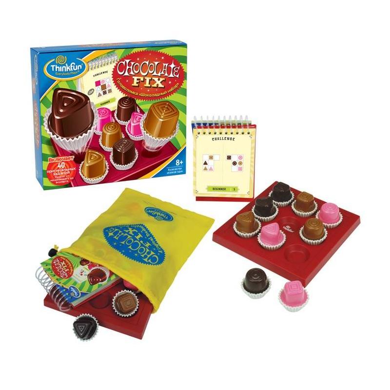 THINKFUN Игра-головоломка Шоколадный набор игра развивающая головоломка микс из 6шт уп 6 216шт
