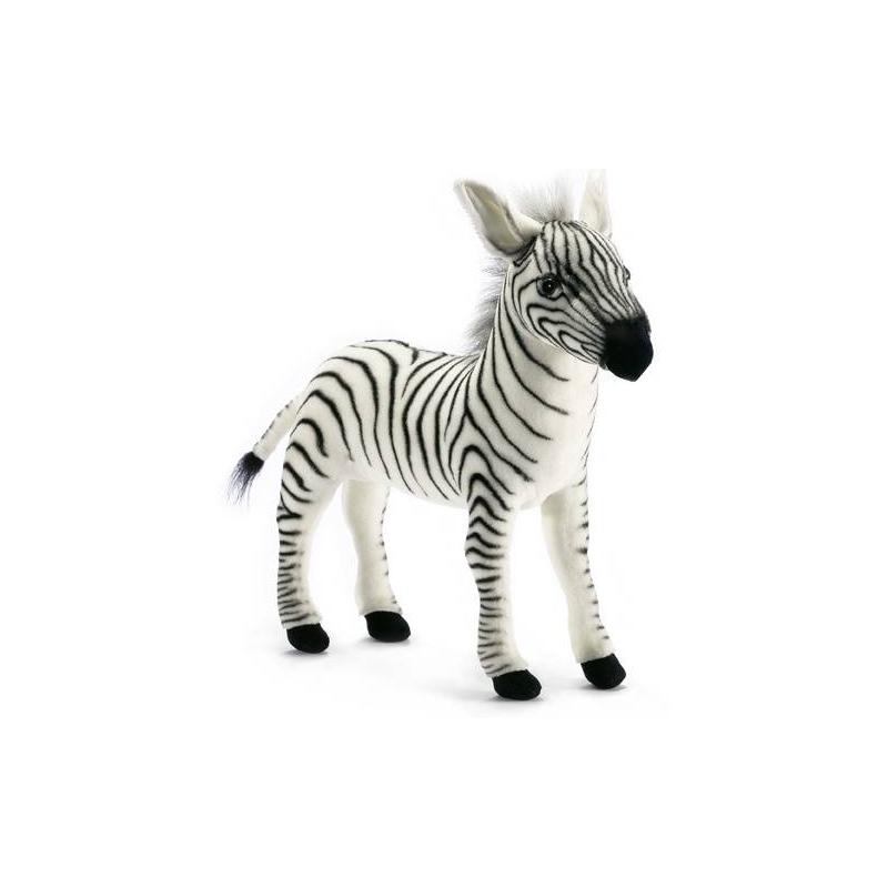 Hansa Мягкая игрушка Зебра мягкая игрушка кролик hansa 3316з искусственный мех коричневый 30 см