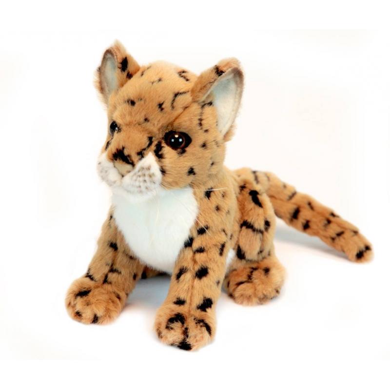 Hansa Мягкая игрушка Леопард мягкая игрушка кролик hansa 3316з искусственный мех коричневый 30 см