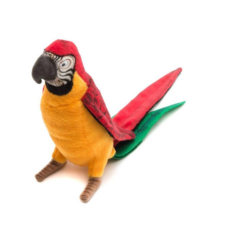 Hansa Мягкая игрушка Попугай hansa мягкая игрушка попугай
