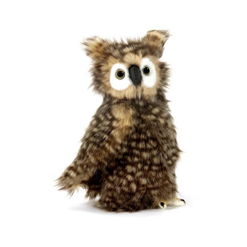Hansa Мягкая игрушка Сова мягкая игрушка сова hansa сова белая 18 см белый искусственный мех синтепон 6155