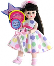 Кукла Брюнетка с шариками Madame Alexander
