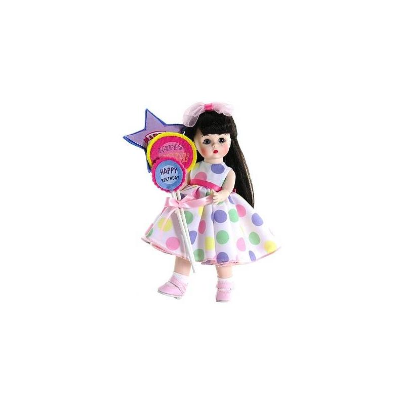 Madame Alexander Кукла Брюнетка с шариками куклы и одежда для кукол madame alexander кукла ведьма ученица 20 см