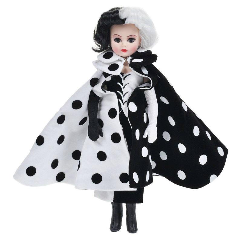 Madame Alexander Кукла Круэлла де Виль куклы и одежда для кукол madame alexander кукла ведьма ученица 20 см