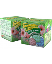 Набор Бомбочки-шипучки Цветущий сад