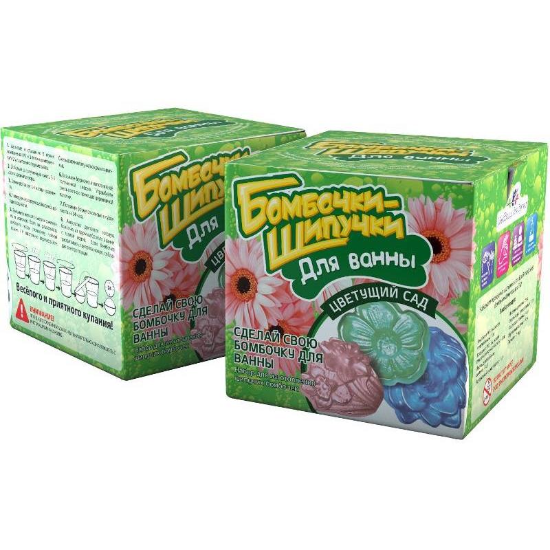 Инновации для детей Набор Бомбочки-шипучки Цветущий сад инновации для детей бомбочки шипучки цветущий сад 732