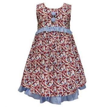 Девочки, Платье LP Collection (голубой)423358, фото