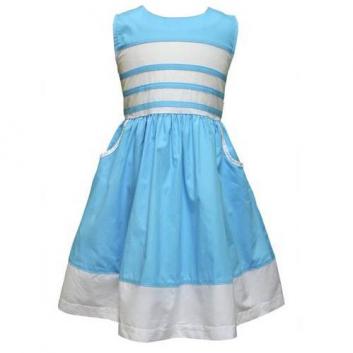 Девочки, Платье LP Collection (голубой)702348, фото