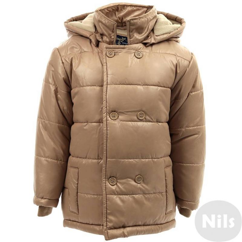 КурткаДемисезоннаякуртка бежевогоцвета марки MAYORAL для мальчиков. Куртка с мягкой подкладкой из флиса и со съемным капюшоном на пуговицах. Застегивается на молнию с клапаном на пуговицах, который имитируетдвубортный покрой. Куртка имеет удобные эластичные внутренние манжеты и два фальш-кармана.<br><br>Размер: 2 года<br>Цвет: Бежевый<br>Рост: 92<br>Пол: Для мальчика<br>Артикул: 603011<br>Страна производитель: Китай<br>Сезон: Осень/Зима<br>Состав: 100% Полиэстер<br>Состав подкладки: 100% Полиэстер<br>Бренд: Испания<br>Наполнитель: 100% Полиэстер