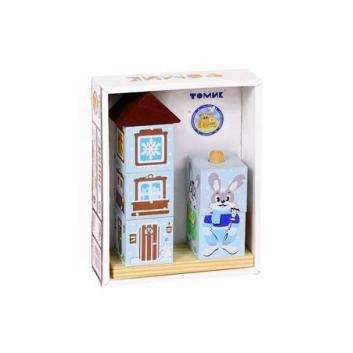 Игрушки, Кубики на палочке Зайка ТОМИК 659172, фото
