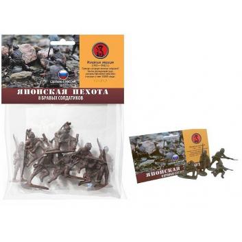 Игрушки, Солдатики Японская пехота Биплант 659310, фото