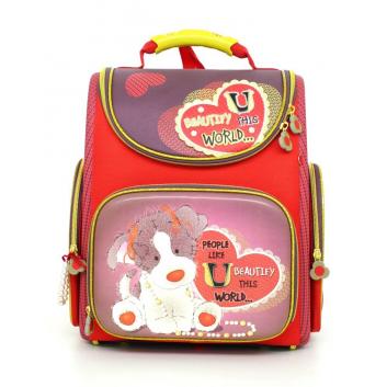 Школа, Ранец Пёсик Hummingbird (красный)613271, фото