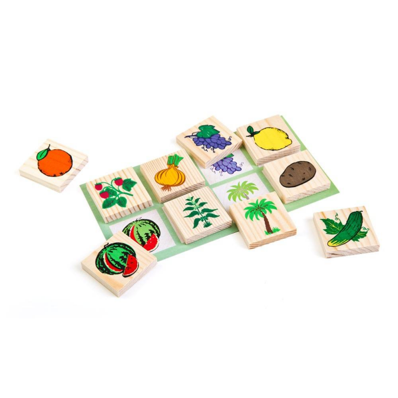 Лото Растительный мирЛото Растительный мир марки ТОМИК.<br>Красочное развивающее лото в игровой форме познакомит вашего малыша с овощами, фруктами, ягодами и другими растениями. В изготовлении применяется древесина хвойных пород, картинки, нанесенные с помощью шелкографии, долговечны.<br>Игра поможет расширить кругозор ребенка, развить зрительную память и внимательность.<br>В наборе:- 48 деталей;- 6 карточек.<br>Размер упаковки:4 ? 17 ? 21 см.<br><br>Возраст от: 3 года<br>Пол: Не указан<br>Артикул: 659179<br>Бренд: Россия<br>Страна производитель: Россия<br>Размер: от 3 лет<br>Материал: Дерево