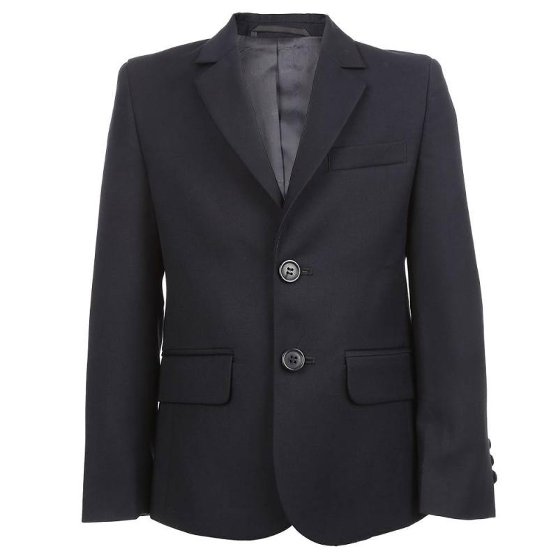 ПиджакПиджак синего цвета из коллекции Дэвид марки SkyLake для мальчиков.<br>Пиджак с подкладкой и лацканами прямоугольной формы выполнен из приятной на ощупь ткани глубокого темно-синего цвета. Модель дополнена двумя функциональными карманами по бокам и одним функциональным нагрудным карманом. Рукава изделия подчеркнуты тремя темно-синими пуговицами на каждом. Спереди пиджак застегивается на две темно-синие пуговицы.<br><br>Размер: 12 лет<br>Цвет: Темносиний<br>Размер: 152/76<br>Пол: Для мальчика<br>Артикул: 804314<br>Бренд: Россия<br>Страна производитель: Россия<br>Сезон: Всесезонный<br>Состав: 70% Полиэстер, 30% Вискоза<br>Состав подкладки: 47% Вискоза, 53% Полиэстер<br>Вид застежки: Пуговицы