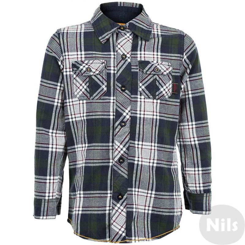 BLUE SEVEN Рубашка рубашка в клетку dc atura 3 atura varsity blue