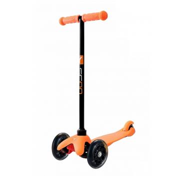 Спорт и отдых, Самокат Mini A5 Shine со светящимися колесами Y-SCOO (оранжевый)611452, фото