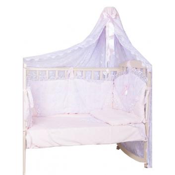 Малыши, Набор в кроватку Элит Плакса (розовый)711231, фото