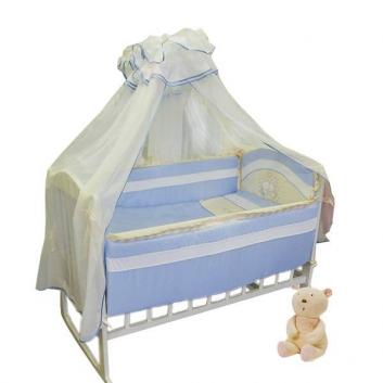 Малыши, Набор в кроватку Облачные малыши Soni Kids (голубой)627413, фото