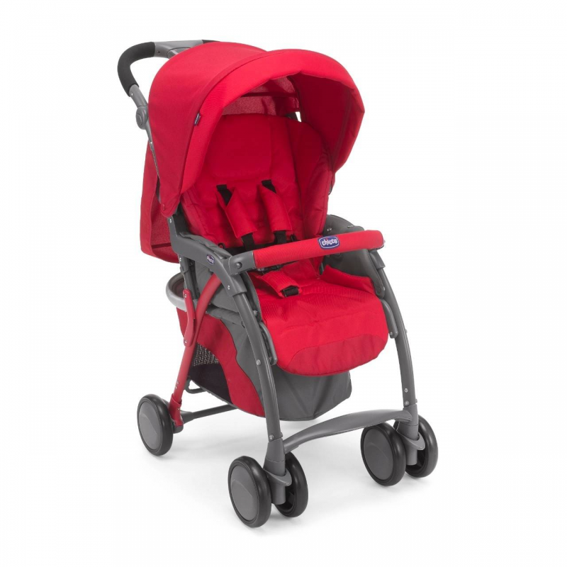 Chicco Прогулочная коляска Simplicity Plus Top Red коляска 2 в 1 chicco trio stylego red passion