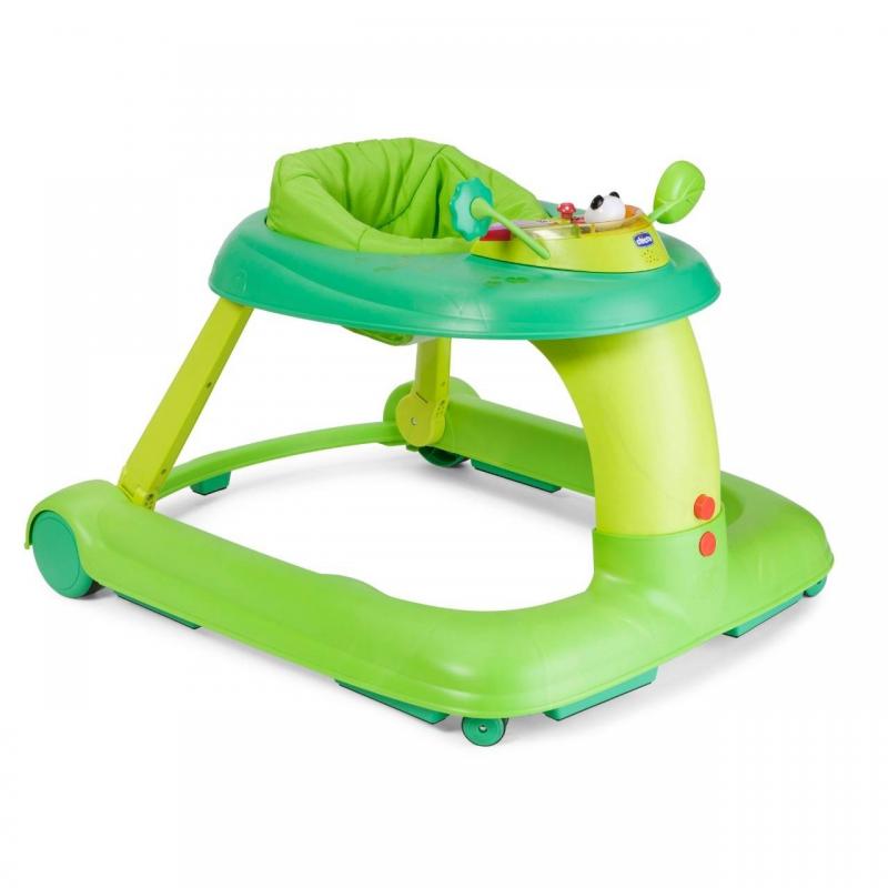 Chicco Ходунки 123 Green ходунки baby evolution ходунки каталка