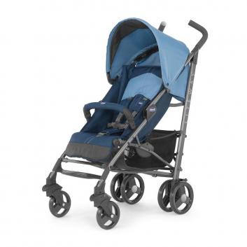 Коляски и автокресла, Коляска-трость Lite Way Top Stroller Blue Chicco (синий)800046, фото