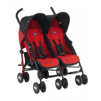 Коляска для двойни Echo Twin Stroller Garnet