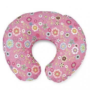 Кормление, Подушка для кормления Boppy Wild Flowers Chicco (розовый)800124, фото