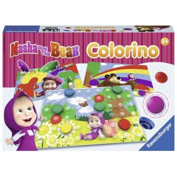 Любимые герои, Настольная игра Маша и Медведь Колорино RAVENSBURGER 654156, фото