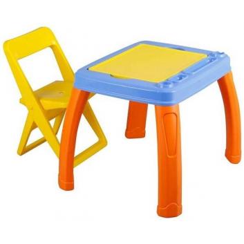 Школа, Набор мебели Pilsan (желтый)800205, фото