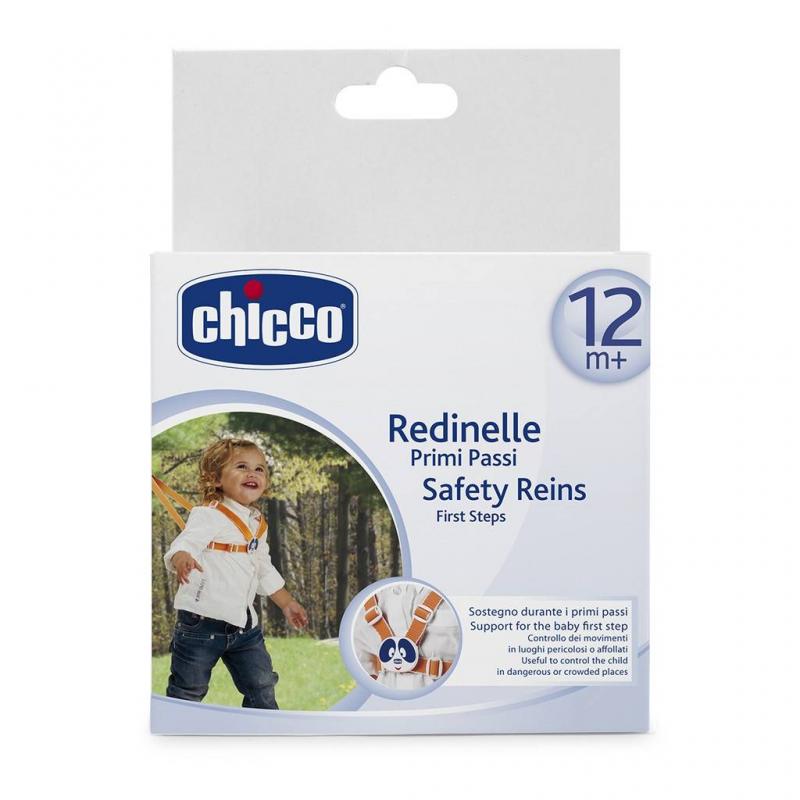 Chicco Поводок детский для первых шагов от 12 месяцев защита на прогулке юкка поводок детский 192