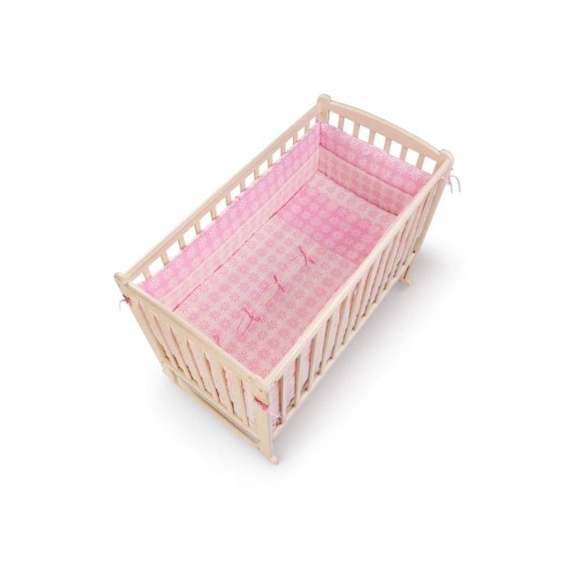 RTC Комплект в кроватку Fiore 7 предметов балдахин на детскую кроватку купить в пензе