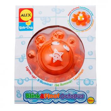 Игрушка для ванны Осьминог