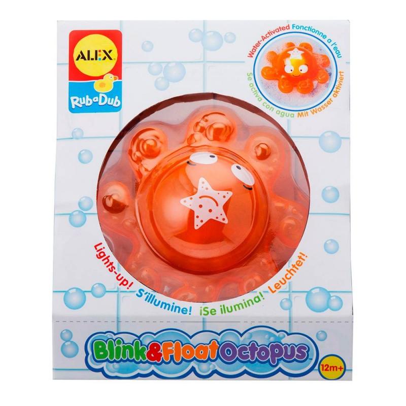 ALEX Игрушка для ванны Осьминог