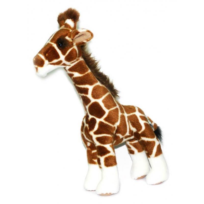 Hansa Мягкая игрушка Жираф hansa медведь полярный спящий 4922 мягкая игрушка