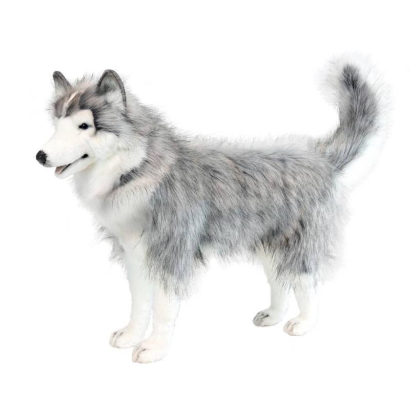 Hansa Мягкая игрушка Хаски мягкие игрушки hansa собака породы сибирский хаски 40 см