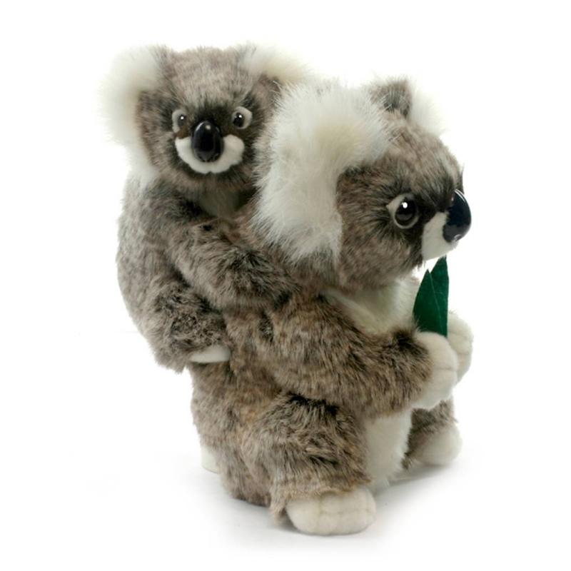 Hansa Мягкая игрушка Коала с детенышем мягкие игрушки hansa счастливая коала 23 см