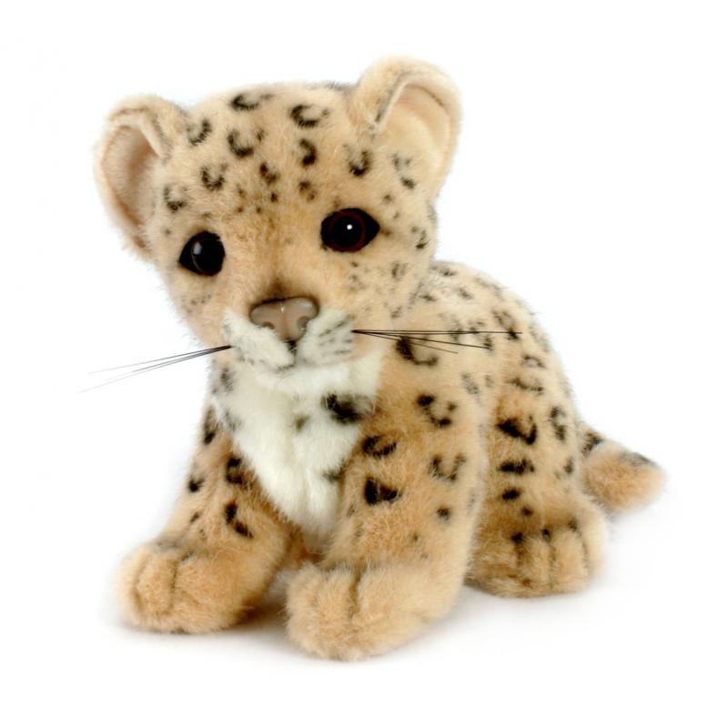 Hansa Мягкая игрушка Детеныш леопарда hansa медведь полярный спящий 4922 мягкая игрушка