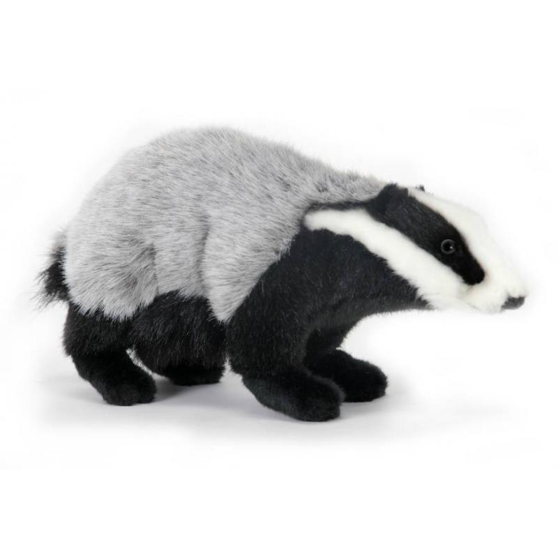 Hansa Мягкая игрушка Барсук hansa медведь полярный спящий 4922 мягкая игрушка