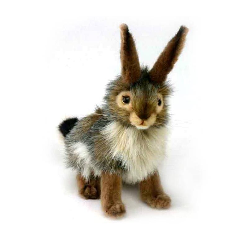 Hansa Мягкая игрушка Чернохвостый заяц мягкие игрушки hansa чернохвостый заяц 23 см