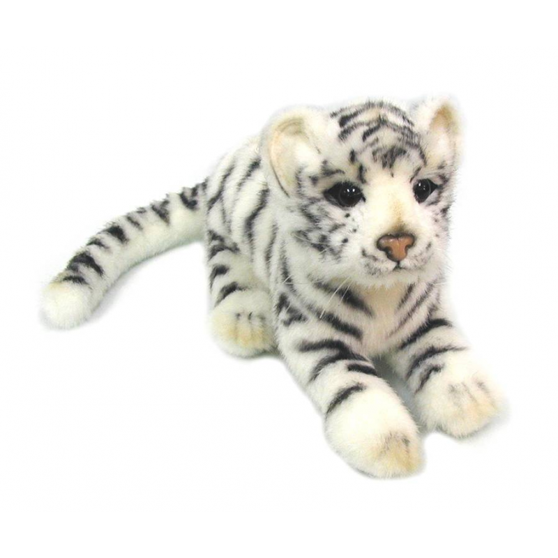Hansa Мягкая игрушка Детеныш белого тигра hansa мягкая игрушка верблюд