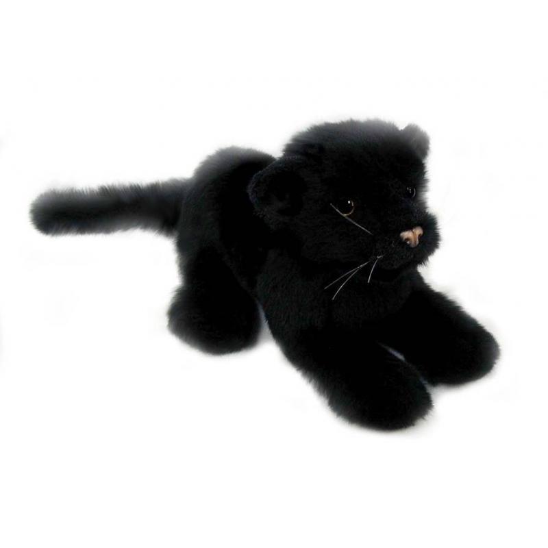Hansa Мягкая игрушка Детеныш черной пантеры hansa мягкая игрушка сова hansa 25см