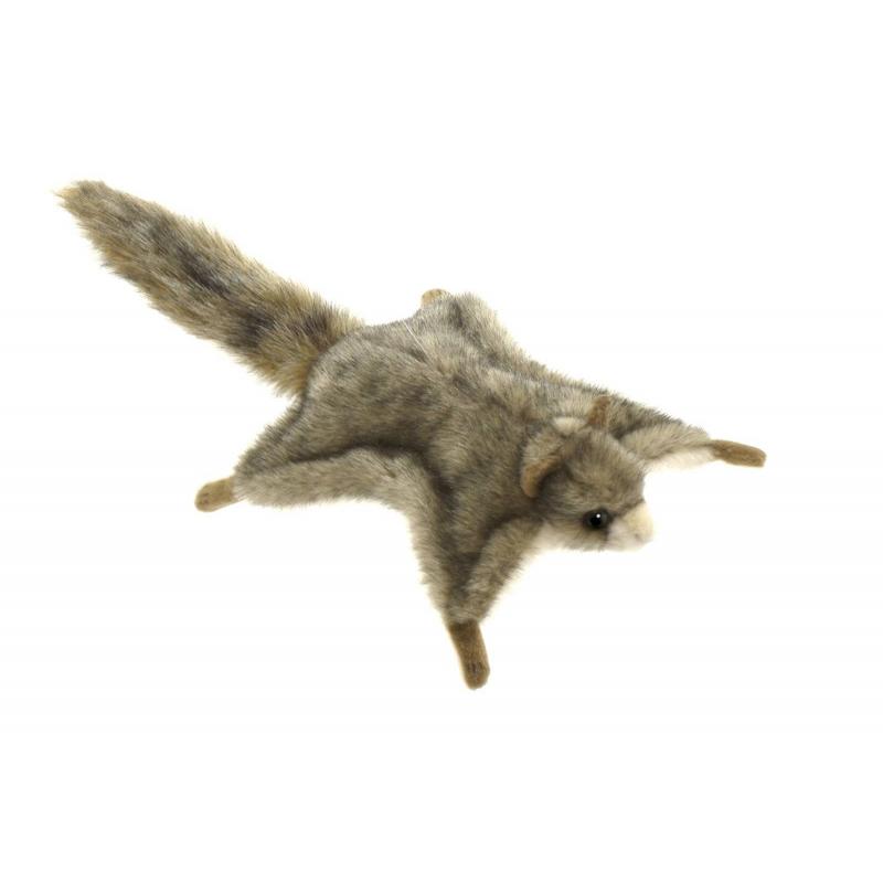 Hansa Мягкая игрушка Белка летяга мягкая игрушка белка hansa белка летяга искусственный мех серый 21 см 4116