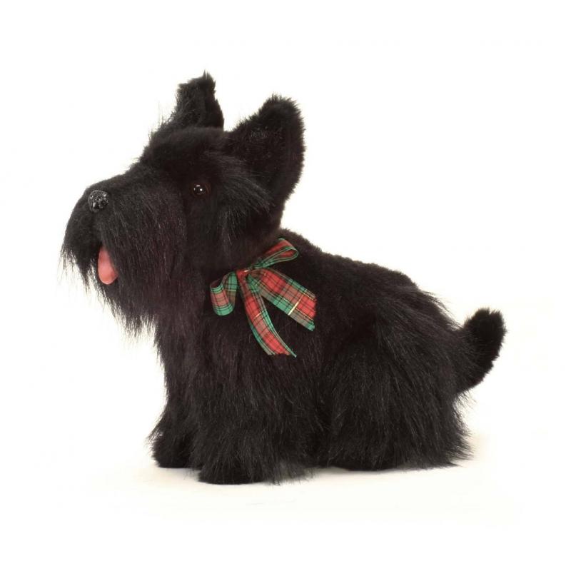 Hansa Мягкая игрушка Скотч терьер мягкая игрушка собака hansa йоркширский терьер искусственный мех коричневый 36 см 5909