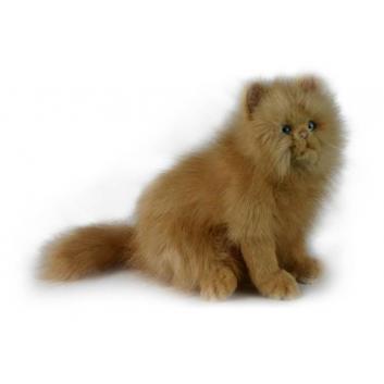 Игрушки, Мягкая игрушка Кошка рыжая Hansa 698709, фото