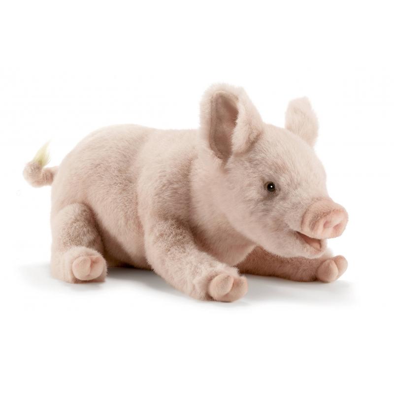 Hansa Мягкая игрушка Свинка мягкая игрушка белка hansa белка летяга искусственный мех серый 21 см 4116