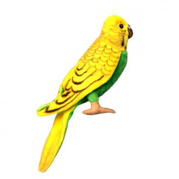 Игрушки, Мягкая игрушка Волнистый попугайчик Hansa 698689, фото
