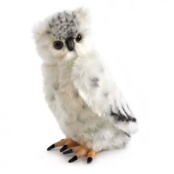 Игрушки, Мягкая игрушка Полярная сова Hansa 698695, фото