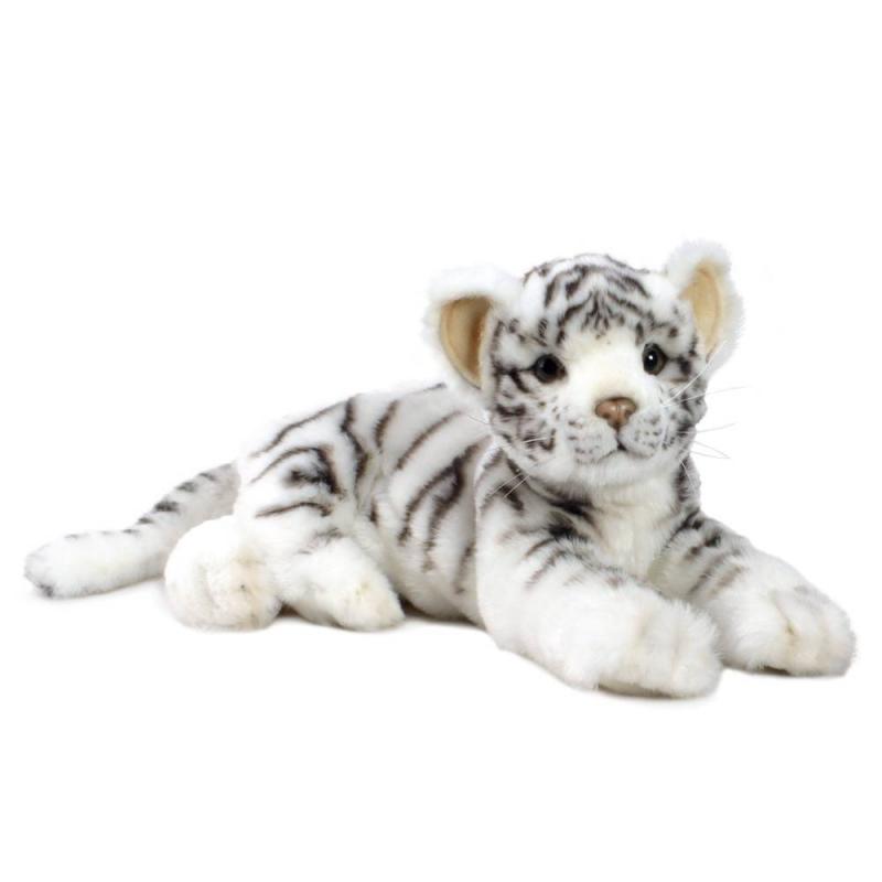 Hansa Мягкая игрушка Детеныш белого тигра hansa мягкая игрушка сова hansa 25см