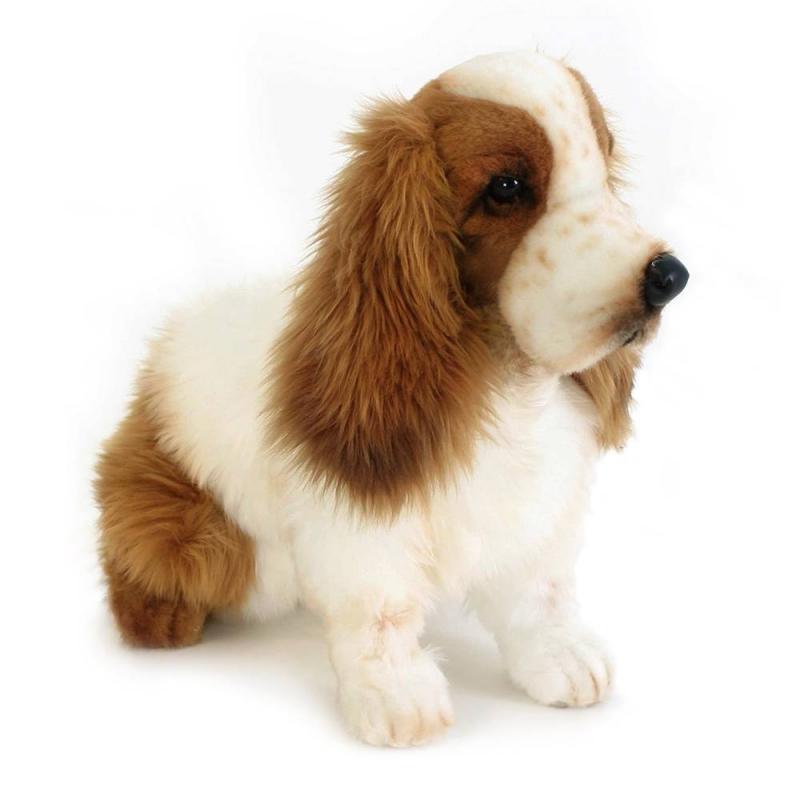 Hansa Мягкая игрушка Кокер-Спаниель 28 см собака кокер спаниель в туле