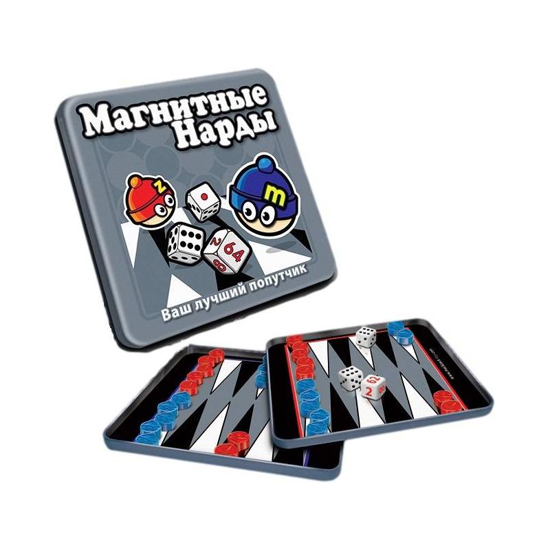 Mack&Zack Магнитная игра Нарды магнитная игра развивающие mack
